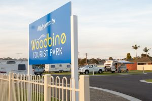 woodbine tourist park lakes entrance powered sites